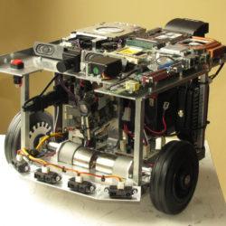 TulBot - laserové vidění